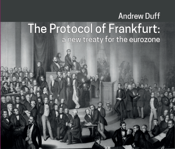 The protocol of Frankfurt by Andrew Duff