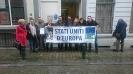 Campagna per la Federazione Europea: Flashmob a Bruxelles-10