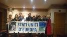 Campagna per la Federazione Europea: Flashmob a Bruxelles-11