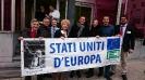 Campagna per la Federazione Europea: Flashmob a Bruxelles-12