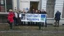 Campagna per la Federazione Europea: Flashmob a Bruxelles-19