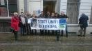 Campagna per la Federazione Europea: Flashmob a Bruxelles-20