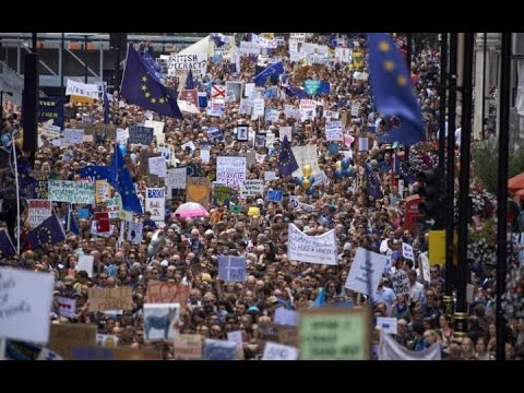 March for Europe, London 2 July 2016