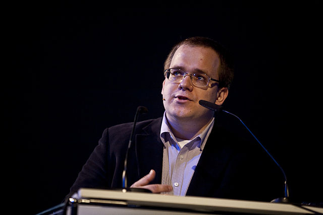 Morozov alla conferenza re:publica di Berlino (2010)
