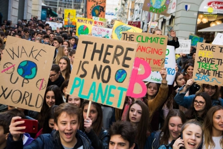 Fridays for future a Genova il 15 marzo 2019