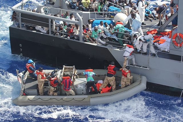 Migranti soccorsi dalla guardia costiera maltese