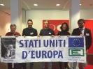 Campagna per la Federazione Europea: Flashmob a Bruxelles-13