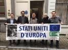 Campagna per la Federazione Europea: Flashmob a Bruxelles-14