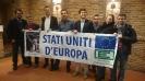 Campagna per la Federazione Europea: Flashmob a Bruxelles-4